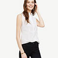 Classic-Fashion-Over-40-Ann-Taylor-Sleeveless-Perfect-Shirt