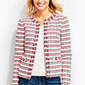 Classic-Fashion-Over-40-Talbots-Fringe-Edge-Jacket-Stripes