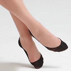 HUE-Perfectly-Bare-Hidden-Liner-Socks-Black