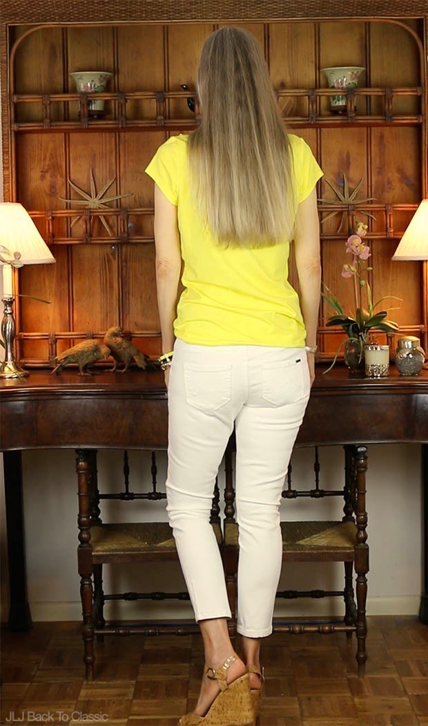 Classic-Fashion-Over-40-Isaac-Mizrahi-Ruffle-Front-Tee-Max-White-Jeans