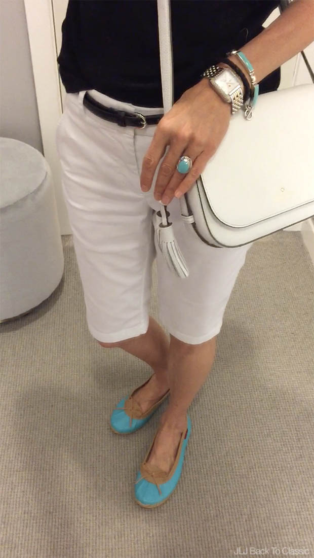Classic-Fashion-Michele-Deco-Diamond-Watch-Vince-Side-Buckle-Shorts-Turquoise-Chookas