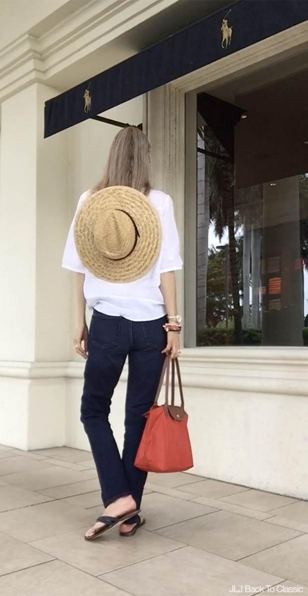 Classic-Style-Fashion-Over-40-50-J-Crew-Jeans-Longchamp-Le-Pliage