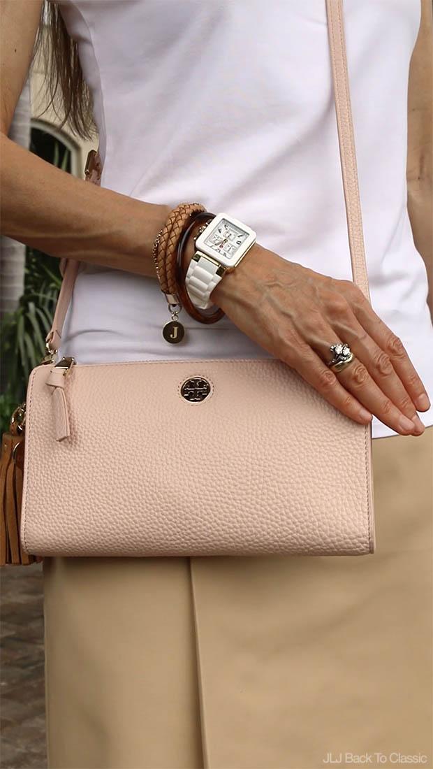 Classic-Fashion-Michele-Jelly-Watch-Tory-Burch-Robinson-Wallet-Crossbody