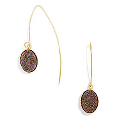 Classic-Fashion-Over-40-50-Bauble-Bar-Druzy-Threader-Earrings-Nightfall