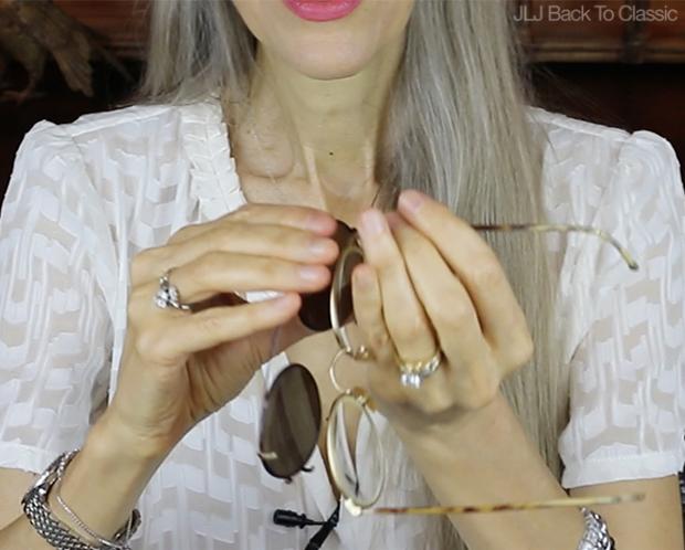 Classic-Fashion-Style-Over-40-50-Giorgio-Armani-Tortoise-Clip-On-Prescription-Glasses