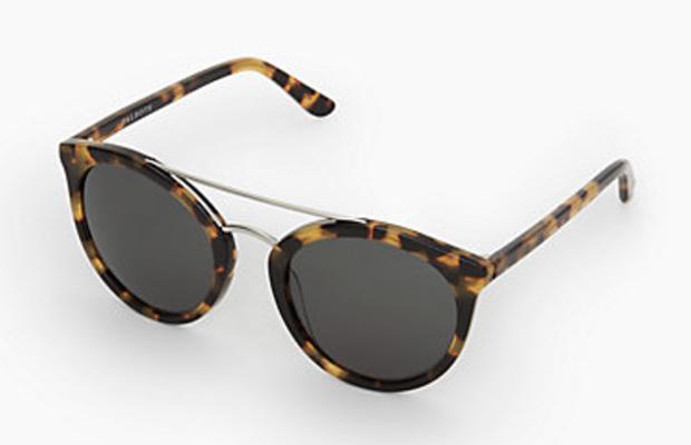Classic-Fashion-Style-Over-40-50-Talbots-Round-Tortoise-Metal-Bridge-Sunglasses