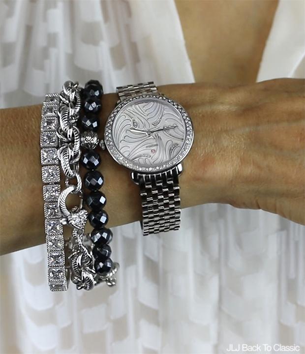 Classic-Style-Over-40-50-John-Hardy-Judith-Ripka-Bracelets-Michele-Serein-Watch