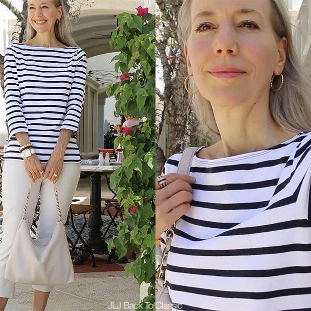 Classic-Style-Over-50-Back-White-Striped-Tee-Janis-Lyn-Johnson
