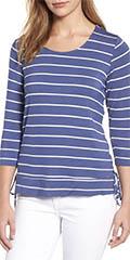 Bobeau-Long-Sleeve-Striped-Tee