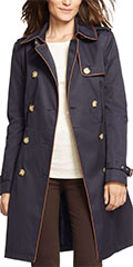 Lauren-Ralph-Lauren-Faux-Leather-Trim-Navy-Trench-Coat