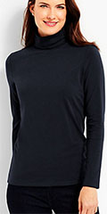 Talbots-Long-Sleeve-Black-Turtleneck