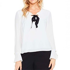 Vince-Camuto-Bell-Sleeve-Lace-Up-Blouse