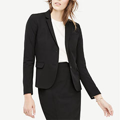 Ann-Taylor-Seasonless-Stretch-Two-Button-Blazer