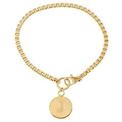 Bronzo-Italia-Yellow-Bronze-Initial-Bracelet