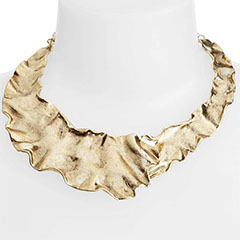 Karine-Sultan-Gold-Plate-Collar-Necklace