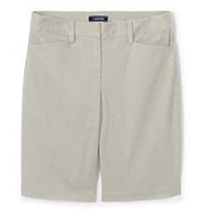 Lands-End-10-Inch-Chino-Shorts-Khaki-Gray