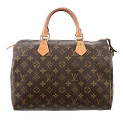 Louis-Vuitton-Monogram-Speedy-30-TheRealReal