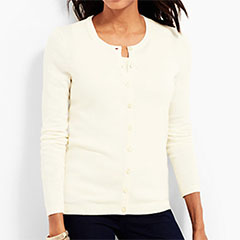 Talbots-Charming-Cardigan-and-Matching-Shell-Ivory