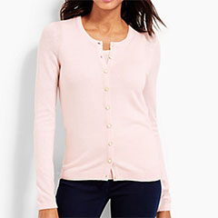 Talbots-Charming-Cardigan-and-Matching-Shell-Pink