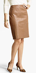 Talbots-Stretch-Leather-Pencil-Skirt-Vicuna-Brown
