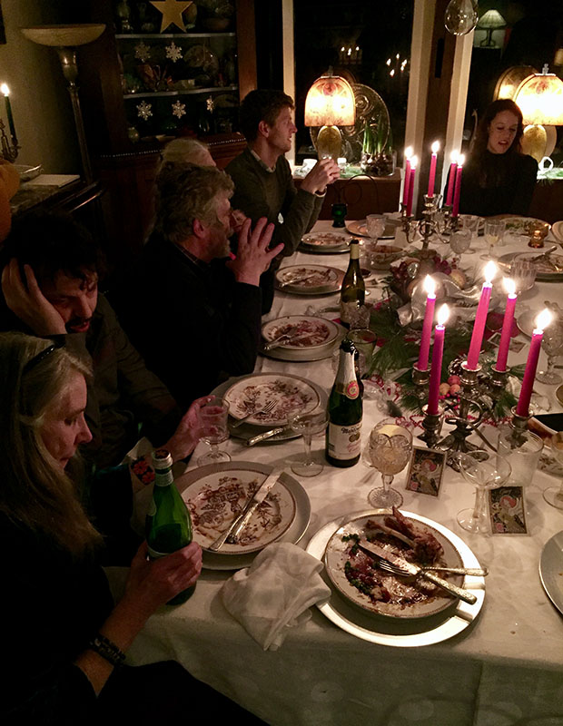 Hallie-Coletta-#BecauseImAlady-I-Servie-Christmas-Dinner-on-150-Yr-Old Dishes-Flatware