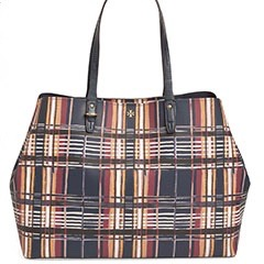 Tory-Burch-Kerrington-Square-Coated-Canvas-Plaid-Tote