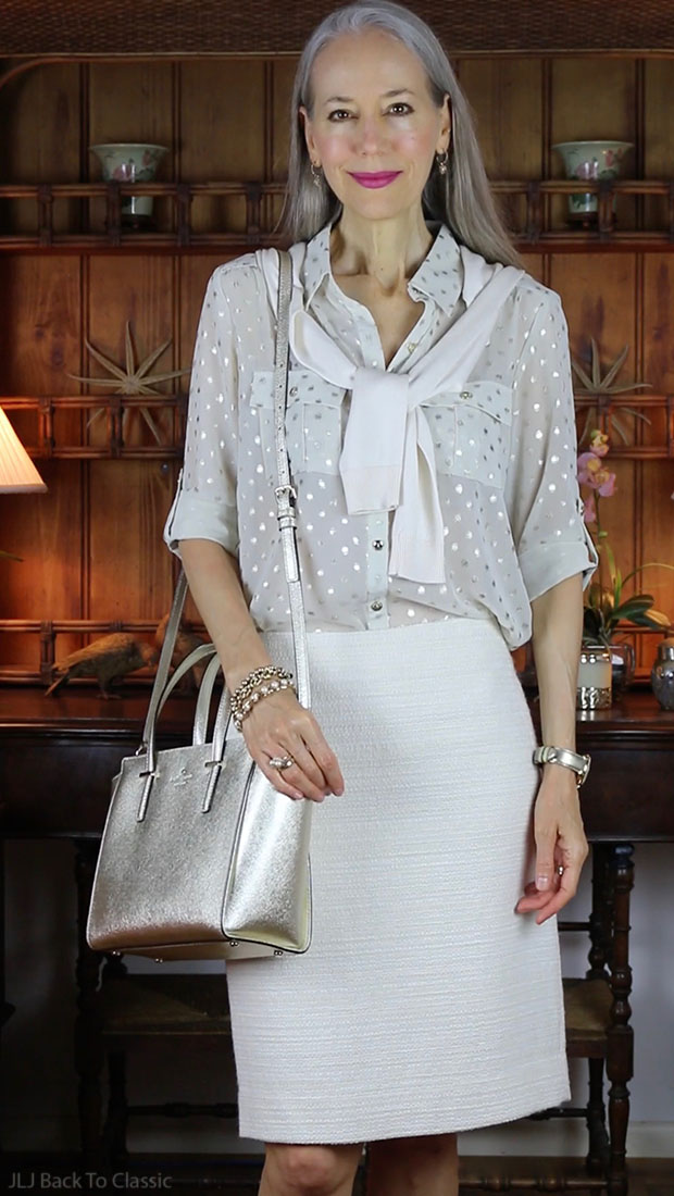 Fashion-Over-40-Kate-Spade-Hayden-Ivory-Skirt-Cardigan-Janis-Lyn-Johnson