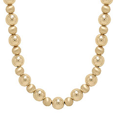 Eterna-Gold-14k-Gold-Polished-And-Satin-Bead-Necklace-20-Inch