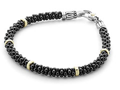Lagos-Black-Caviar-Gold-Bracelet