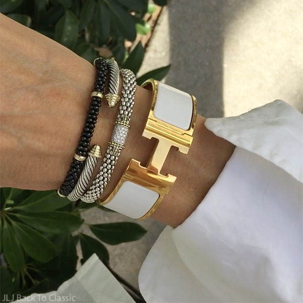 Lagos-Diamond-Ring-Caviar-Bracelets-Yurman-Cable-Bracelet-Hermes-White-H-Bracelet