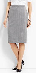 Talbots-Shadow-Herringbone-Pencil-Skirt