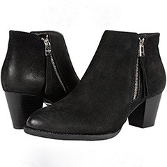 vionic-sterling-black-suede bootie