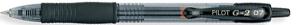 Black Pilot Gel-Ink Pen, G-2 07