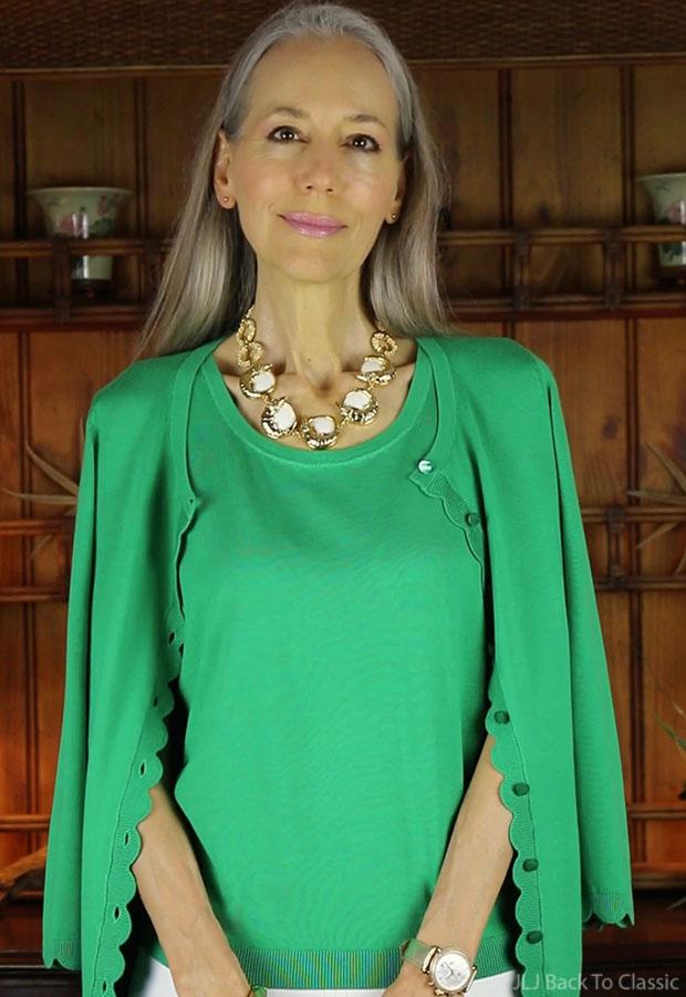 classic-fashion-talbots-charming-cardigan-lilly-pulitzer-alligator-necklace-janis-lyn-johnson