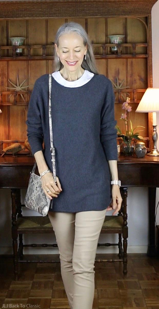 classic-fashion-over-40-50-kate-spade-crossbody-Michael-Kors-Tunic-Sweater