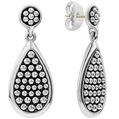 lagos-bold-caviar-medium-flat-drop-earrings-sterling-silver