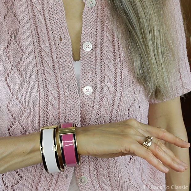 talbots-ivory-and-vibrant-pink-statement-bangles