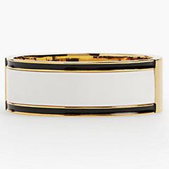talbots-striped-statement-bangle-ivory-black-gold