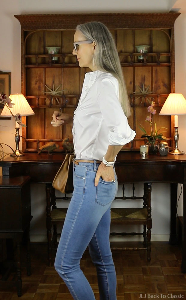 4-articles-society-skinny-jeans-Ann-Taylor-White-Shirt-classic-fashion-over-40