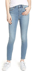 Articles of Society Heather High-Waist Skinny Jeans, Monaco Wash