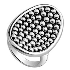 lagos-bold-caviar-sterling-silver-oval-ring