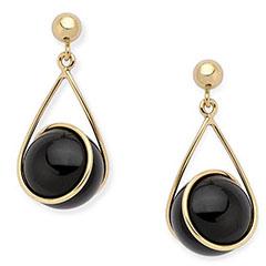 ross-simons-14k-gold-black-onyx-dangle-earrings