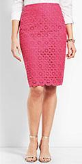 talbots-magenta-scallop-pencil-skirt