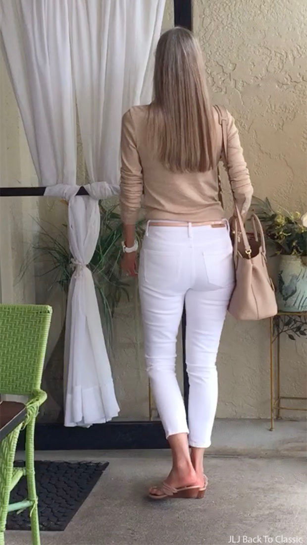 Fashion-Over-40-White-Treasure-And-Bond-Skinny-Jeans-Back-Prada-Vitello