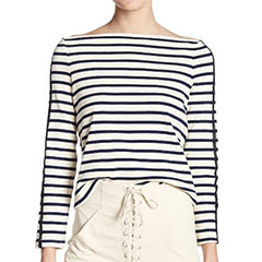 ALC-Colette-Striped-Boatneck-Tee