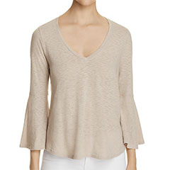 three-dots-bell-sleeve-tee