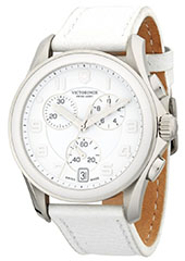 victorinox-swiss-army-stainless-steel-leather-strap-watch-white