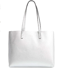 oad-new-york-pebbled-leather-silver-metallic-tote