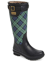 pendleton-black-watch-plaid-rain-boot