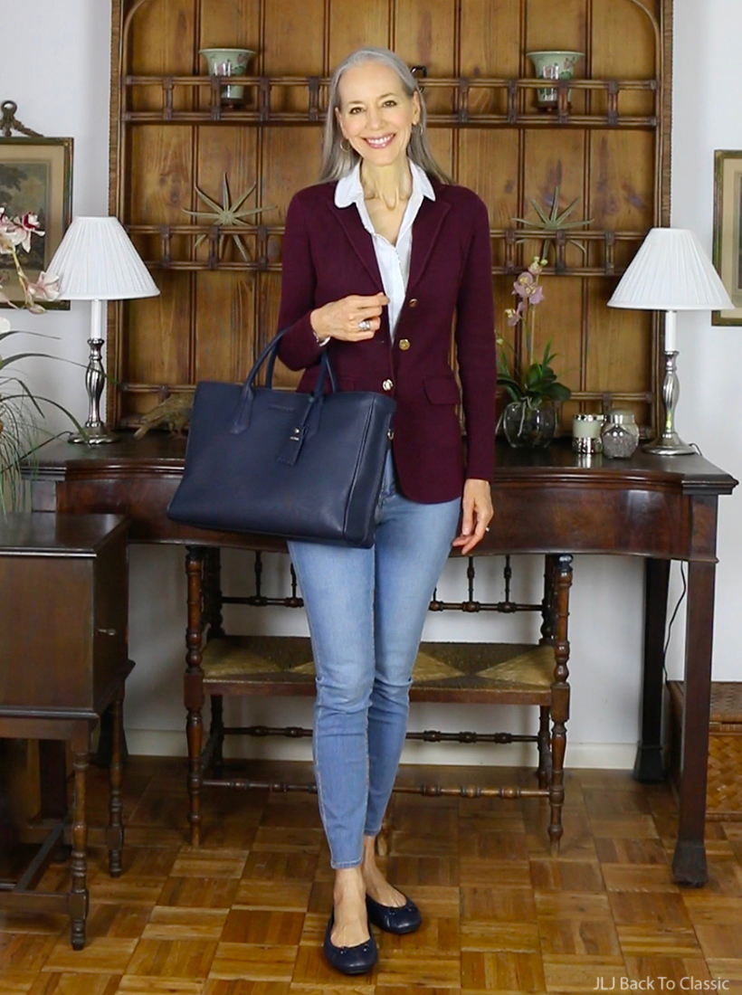 classic-fashion-ralph-lauren-blazer-brooks-brothers-white-shirt-longchamp-navy-tote copy (1)